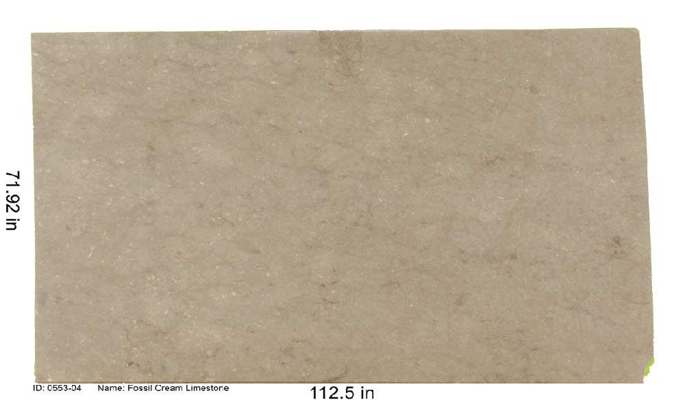Fossil Cream Limestone