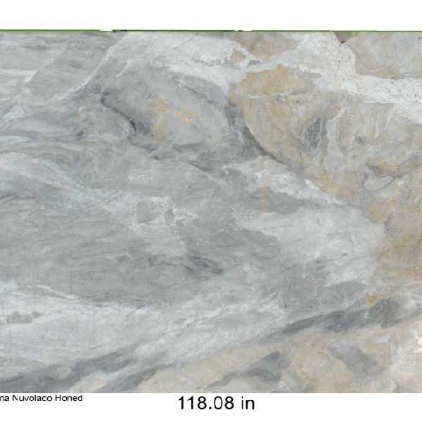 Crema Nuvolado Honed Marble